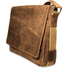 Show them you're ready for anything with this rugged flapover-style Arizona Rustic Buffalo Leather Hunter Camo Messenger Bag from Jack Georges. Handcrafted from uncorrected full grain buffalo leather,