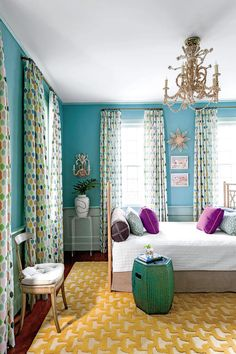 Select Multi-Use Furniture - 50 Best Small Space Decorating Tricks We Learned in 2016 - Southernliving. A daybed works wonders in a small space. It can function as both sofa and bed and adds increased flexibility and functionality to a studio apartment, guest room, or living room. This queen bed-daybed hybrid was created by affixing two headboards to a mattress base.