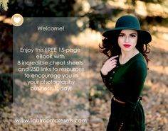 Free Cheat Sheets for Photographers! | Pretty Presets for Lightroom