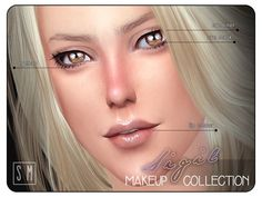 The Sims Resource: Sigil - Makeup Collection by Screaming Mustard • Sims 4 Downloads