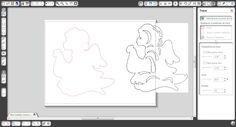 tuto pour supprimer Double ligne de découpe quand on vestorise un dessin - tuto en vidéo