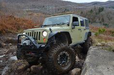 Commando Green JK, off roaders, vehicle, wheels, cool, hot