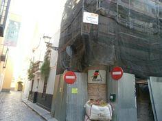"""Restauración y rehabilitación de todo un edificio en la calle Guzmán """"El Bueno"""", Sevilla. Respetamos todo lo que se podía salvar del edificio."""