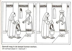 Samuel may come to work in the temple find the 10 differences