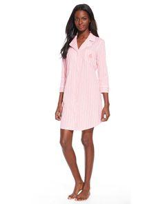 Striped Cotton His Shirt - Lauren Sleepwear & Robes - RalphLauren.com