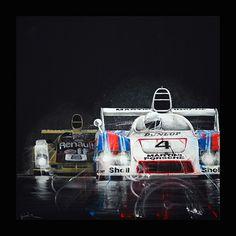 tom havlasek art - motorsport art