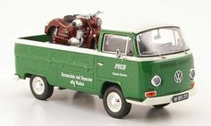 Classic+Diecast+Cars | Volkswagen T2 Puch Pritsche Puch Classic Service mit SGS als Ladegut ...