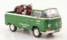 Classic+Diecast+Cars   Volkswagen T2 Puch Pritsche Puch Classic Service mit SGS als Ladegut ...
