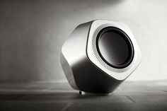 Beolab 19 Grey - Home Theatre Speakers. High-end wireless subwoofer bringing powerful bass and a unique sculptural design to your living room. Home Theater Speakers, Bang And Olufsen, Music System, Storage Design, Boombox, Sound Of Music, Wireless Speakers, Industrial Design, Bangs