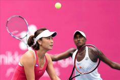 9/24/16   Peng Shuai & Asia Muhammad Win Guangzhou International Women's Open Doubles Championshiop! Defeat Olga Govortsova and Lapko 6-2, 7-6.