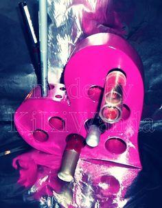 Make up Depot  pink-Valentina  von KiKiWanda UnikateausderLueneburgerHeide auf DaWanda.com