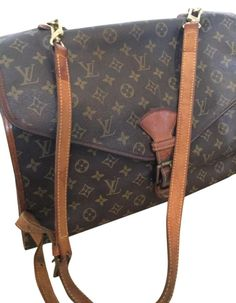 e66bb0515 The Louis Vuitton Bel Air Briefcase Laptop Brown Monogram Canvas and Leather  Messenger Bag is a top 10 member favorite on Tradesy.