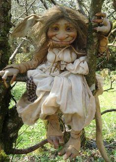 I love garden trolls!