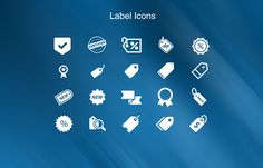 I am sharing 20 awesome label icons that might be useful for your project. Enjoy downloading. - GrfxPro.com