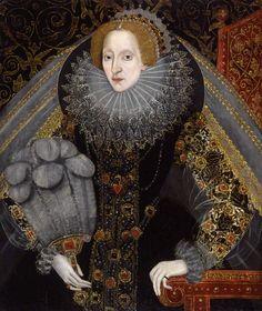 Queen Elizabeth I, by Unknown artist, circa 1585-1590 - NPG 2471 - © National Portrait Gallery, London