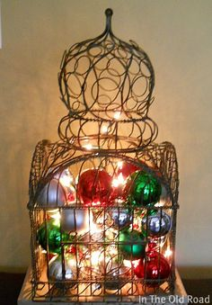 Easy DIY -Works With Any Decorative Metal Or Wire Birdcage