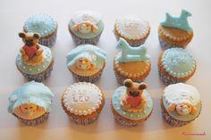 Chocolat cupcakes for Leonardo's Baby Shower