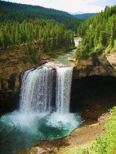 Kakwa Falls, Alberta, Canada