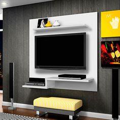 Shop VonHaus TV Bracket 32 Inch To 70 Inch - Ultra Strong Tilt TV Wall Mount for VESA, Weight Capacity - TV Wall Bracket. Home Room Design, Living Room Designs, Lcd Wall Design, Lcd Units, Modern Tv Wall Units, Tv Unit Furniture, Tv Panel, Bedroom Cupboard Designs, Tv Wall Decor
