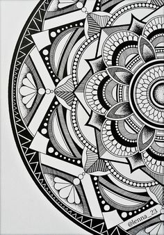 Mandala by drawingsbylenna23