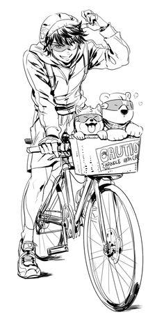 Diamond no Ace - Miyuki, Dog Sawamura & Ice bear Furuya