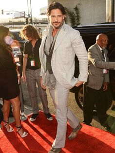 Joe Manganiello#who plays werewolf Alcide#