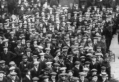1914 1918 - Volontaires britanniques en août 1914.