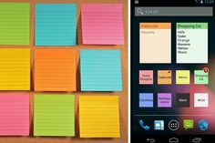 Color-Note_Sticky - Smartphone users living the fast-paced lifestyle can now slow it down a tad with a really useful app for organizing your daily schedules. It's called Color Note and its mantra is to keep users on top without getting bogged down. Here's more from our App Insider, Christine