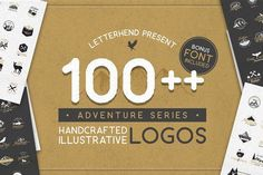 Adventure Logo Bundle 90%OFF! by letterhend on @creativemarket