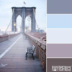 Brooklyn Blues #patternpod #patternpodcolor #color #colorpalettes