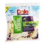 Dole Classic Iceberg Salad Mix $0.79 No Coupons Needed - http://www.couponoutlaws.com/dole-classic-iceberg-salad-mix-0-79-no-coupons-needed/