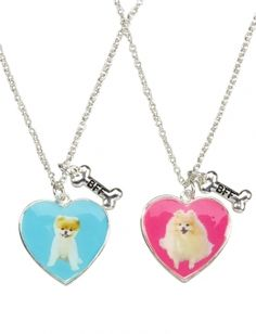 Boo And Buddy BFF Necklaces