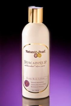 Muscadine 20™  Ultra Rich Lotion  This all over moisturizers delivers full body antioxidants helping support healthy skin. Offers long lasting, non-greasy moisture.