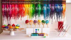 Art party setting