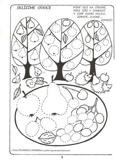 Crafts,Actvities and Worksheets for Preschool,Toddler and Kindergarten.Free printables and activity pages for free.Lots of worksheets and coloring pages. Preschool Lesson Plans, Preschool Kindergarten, Preschool Activities, Apple Activities, Autumn Activities, Fall Coloring Pages, Coloring For Kids, Free Printable Worksheets, Free Printables