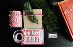 Winter gift wrap ideas