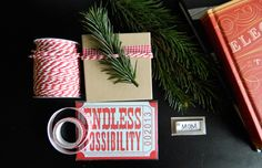 5 Minute Gift Tag DIY + Wrap Inspiration