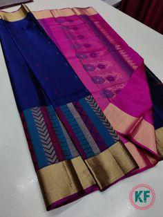 Cotton Saree Blouse Designs, Indian Silk Sarees, Stylish Sarees, Saree Models, Cheer Skirts, Bridal, Fashion, Moda, Fashion Styles