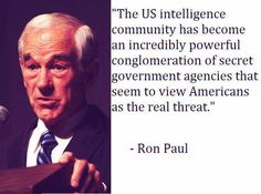 Ron Paul, right, again.