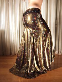 Mermaid skirt - YOUR SIZE - Gold Motherboard on Etsy, $85.00