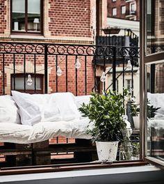 DIY Simple outdoor sofa
