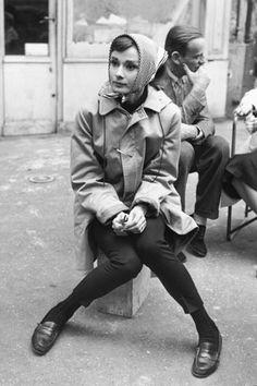 El tributo a los mocasines - Audrey Hepburn