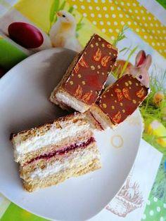 Epres - grízes mézes süti Hungarian Cake, Vanilla Cake, Pudding, Sweets, Cookies, Recipes, Food, Crack Crackers, Gummi Candy