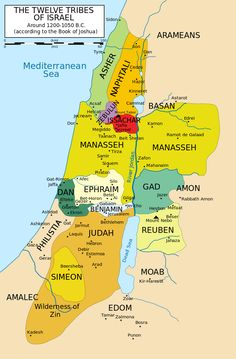 Zebulun Tribe of Israel. Theory of Cherokee origination. As part of the Kingdom of Israel, the territory of Zebulun was conquered by the Assyrians, and the tribe exiled; the manner of their exile lead to their further history being lost. Tribe Of Judah, Heiliges Land, Book Of Joshua, Image Jesus, Bibel Journal, Bible Mapping, Bible Knowledge, Promised Land, Scripture Study