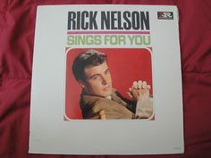 "Rick Nelson ""Sings For You"" Original 1963 Imperial Records LP-9251 Mono Vinyl Lp"