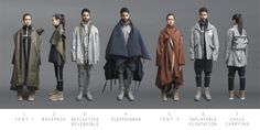 Estudiante diseña colección de ropa funcional para ayudar a refugiados sirios