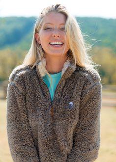 Walnut Sherpa Pullover