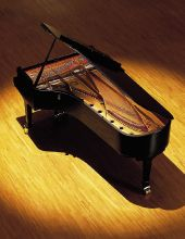This is a Yamaha Grand Piano. They are great! I enjoy playing the pianos at Keyboard Concepts.