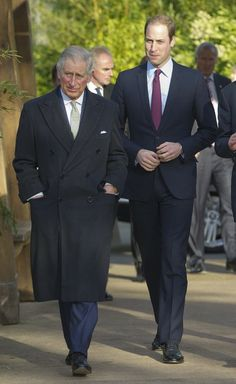 Prince Charles and Prince William at the 'United for Wildlife' Meeting 26 Nov 2013