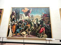 O Milagre de São Marcos libertando o Escravo Jacopo Tintoretto Gallerie dell'Accademia Veneza